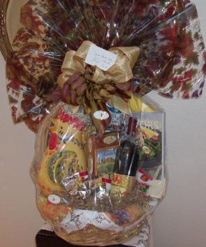 Holiday Pasta Sampler Basket